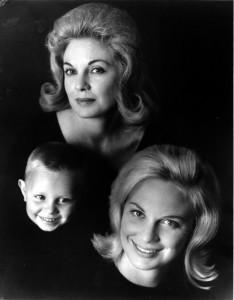 3.David Jester, Kathleen Bremner, Susan Jester, ca 1963.Photo by Charles Schneider