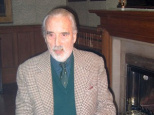 Christopher Lee in Hollywood Chinese Photo by Arthur Dong