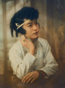 The Curse of Quon Gwon, 1916.Violet Wong, Actress. Courtesy Violet-Marion Collection