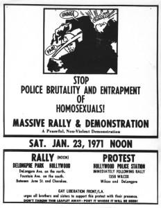 Rally flyer